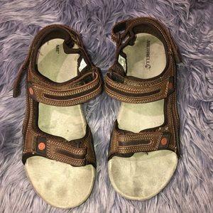 Merrell Dark Earth Sport Sandal Size 10